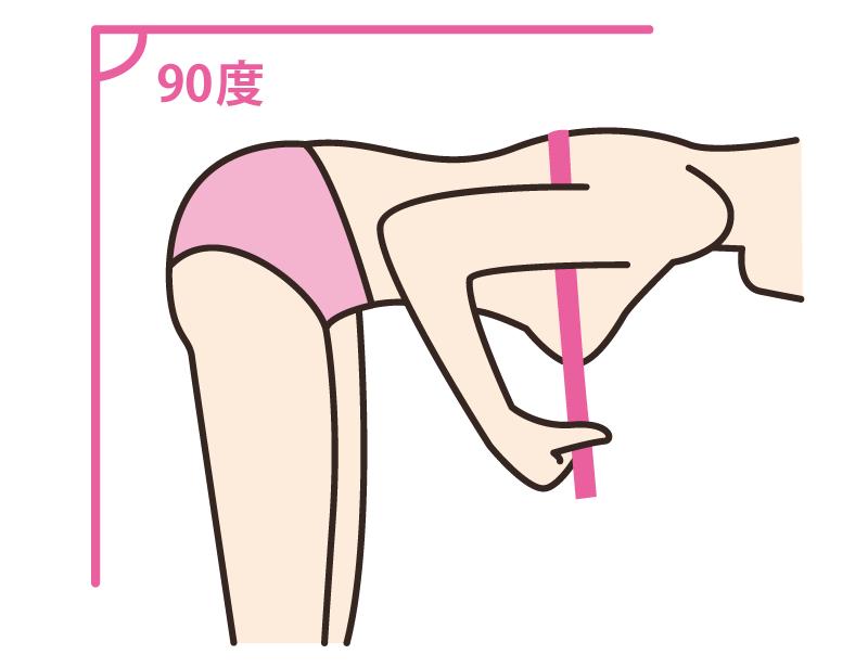トップバストサイズの測り方